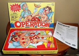 2013 OPERATION Game Complete w SAM Tray, Instructions, Ailment PARTS, Tweezers - $15.00
