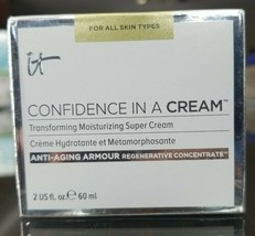 IT Cosmetics Confidence in a Cream Moisturizer - Full Size 2 oz - New - $27.90