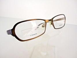 MODO TITANIUM Mod. 4013 (BWN) Brown 52 x 18 135 mm Eyeglass Frames - $24.70