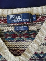 Polo Ralph Lauren Sweater vintage Lamb wool Great condition - $58.49