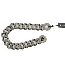 Marc Jacobs Hematite Katie Turnlock Lizard Embossed Link Bracelet NWT - $73.76