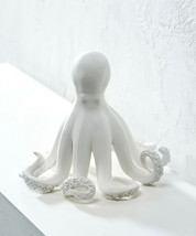 "8.2"" high White Octopus Nautical Figurine Polystone - $59.39"