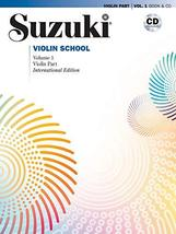 Suzuki Violin School, Vol 1: Violin Part, Book & CD Suzuki, Shinichi; Pr... - $13.61