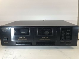 Sony TC-WE305 Dual High Speed Stereo Cassette/Tape Double Recorder New B... - $60.73
