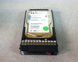 "Hp 3.5"" 72.8 Gb 15K Rpm Internal Sas Hard Drive DF072A9844 MAX3073RC w/HP Caddy - $20.00"