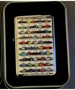 Auto Racing Evolution 911 Vintage Art Work Windproof Dual Flame Torch Li... - $23.70