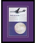 1959 DC Douglas Airliner Framed 11x14 ORIGINAL Vintage Advertisement  - $46.39