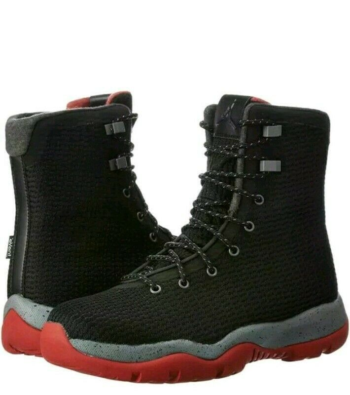 34825df8658c S l1600. S l1600. Nike Air Jordan Future Boot Black Red Men s Sneaker Boots  854554-001 Size 8.5. 14 recent views