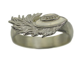 Alien Flying Saucer Sterling Silver 925 Jewelry UFO Deep Space distress ... - $24.68