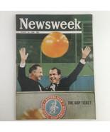 Newsweek Magazine August 19 1968 Richard Nixon and Spiro Agnew No Label - $47.45