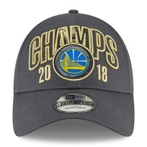 NEW ERA 2018 NBA Finals Golden State Warriors Championship Adjustable Cap - ₹2,239.47 INR