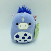 "Squishmallows Meadow Horse Pony Purple 5"" Easter Stuffed Animal Kellytoy NWT - $19.99"