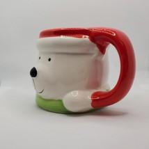 Holiday Mug Christmas Polar Bear, Ceramic Dolomite, 15oz, Royal Norfolk image 2