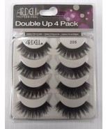 Ardell Double Up 4 Pack Strip Lashes Style #205 Full Volume - $21.90