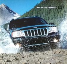 2003/2004 Jeep GRAND CHEROKEE sales brochure catalog US 04 Laredo Overland - $8.00