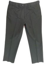 "Roundtree & Yorke Mens Dress Black Pants Size 44""x34"" w/measurements 42""... - $14.20"