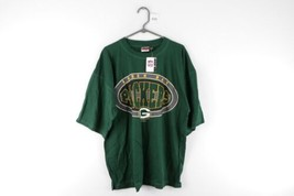 NOS Vintage 90s Mens 3XL Green Bay Packers NFL Football Spell Out T Shir... - $39.55