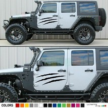 Sticker Stripe for Jeep wrangler scratch graphic intake door 2007 2014 2015 2016 - $34.60+