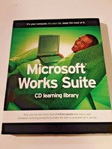 Microsoft Works Suite 2003 CD Learning Library New Unsealed Gateway Lear... - $12.86