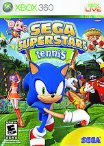 Sega Superstars Tennis & Xbox Live Arcade (Microsoft Xbox 360, 2008) NEW... - $8.45
