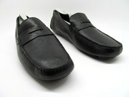 Cole Haan Howland CO4535 Mens Black Leather Driving Penny Loafers Size U... - $47.53