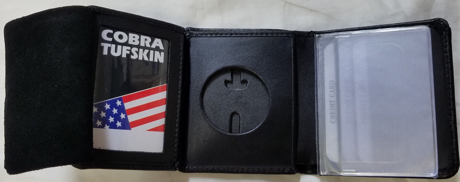 NY//NJ Police-Style-Officer/'s Bitch Mini Badge Wallet 1-inch mini not included