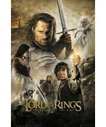 LORD OF THE RINGS - RETURN OF THE KING - MOVIE POSTER (REGULAR) (SIZE: ... - $17.00
