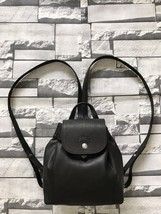 Longchamp LE PLIAGE Cuir Backpack XS BLACK AUTH - $299.00