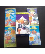THE ADVENTURES OF ROCKY AND BULLWINKLE 4 VHS COMPLETE SET - $44.99