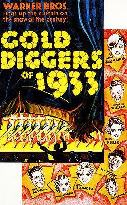 Primary image for Gold Diggers of 1933 - Movie Poster