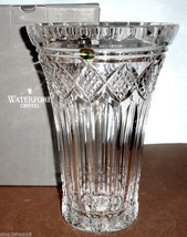 "House of Waterford St. Pauls Tower Prestige Vase 10""H Crystal Ireland 159559 New - $475.90"