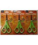 "Fiskars 154110-1006 5"" Duck Edition Detail Pattern Scissors Non Stick Bl... - $12.87"