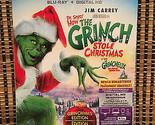How the Grinch Stole Christmas (Blu-ray, 2016)+Embossed Slipcover.Dir<Splash&