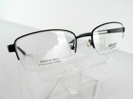 Safilo Elasta E 3095 (0003)Satin Black 51 x 19 140 Eyeglass Frames Eyewear - $50.45