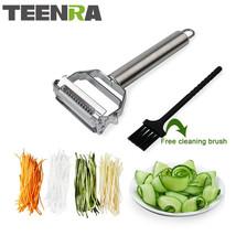 TEENRA 1Pcs Stainless Steel Vegetable Julienne Potato - €15,76 EUR