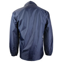 Renegade Men's Lightweight Water Resistant Button Up Windbreaker Coach Jacket image 5