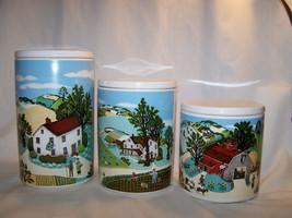 Vintage Avon Three Piece Country Farms Pfaltsgr... - $58.41