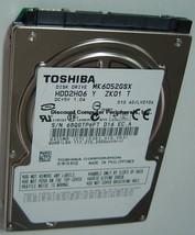 "New 60GB Toshiba MK6052GSX 2.5"" 9.5mm SATA Hard Drive HDD2H06 Free USA S... - $34.25"