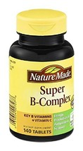 Nature Made Nature Made Super B-Complex Dietary Supplement, 140 tabs (Pa... - $27.67