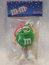 M&M's Kurt Adler Resin Ms Green Character Christmas Ornament MIP - $3.95