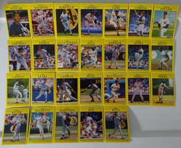 1991 Fleer New York Yankees Team Set of 26 Baseball Cards - $7.00