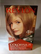 NEW Revlon colorsilk 61 dark blonde. Delivers long lasting color and shine. - $7.51
