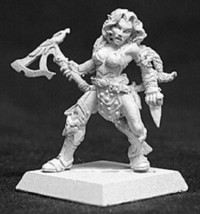 Arnise Elven Sergeant Reaper Miniatures Warlord Ranger Fighter Barbarian Melee - $5.93