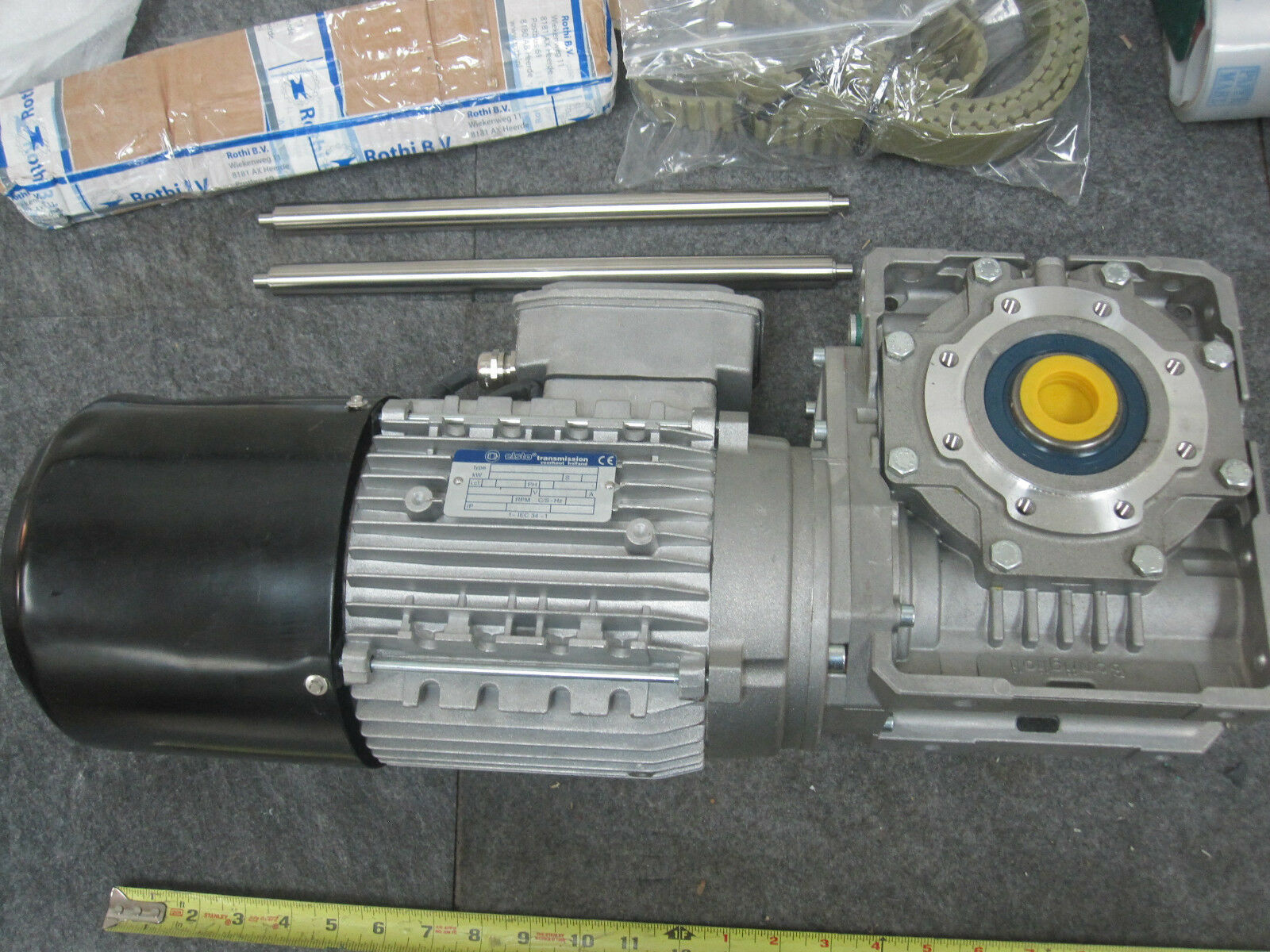 Elsto W75U-P90 Transmission with motor AM-AC4-90S-AA4-1286718