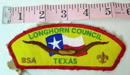 Longhorn Council North Texas Boy Scouts Patch - $6.88
