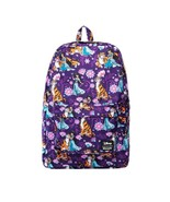 Loungefly Disney Aladdin Jasmine Raja Floral School Book Bag Backpack WD... - $58.05
