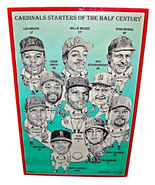 """2000 AMADEE Wohlschlaeger Lithograph 16x24.5"""" 317/1500 St. Louis Cardinals - $129.99"""