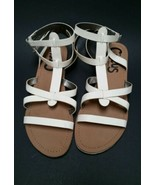 Sam Edelman Circus Shoes Sandals Ankle Straps White Selma Strappy Womens... - $39.59