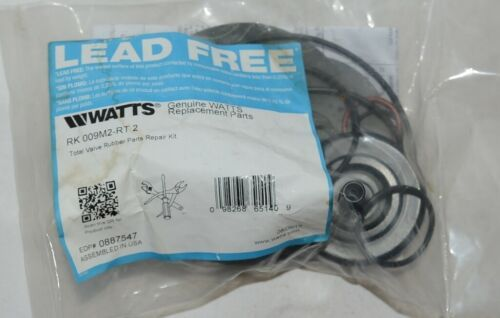 Watts RK 009M2-RT 2 Total Valve Rubber Parts Repair Kit Lead Free