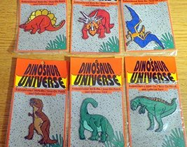 6 Different Dinosaur Universe Embroidered Patches Tyrannosaurus Rex Pter... - $19.99